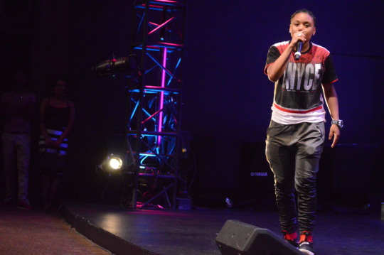One of our youth performing at our Summer Showcase