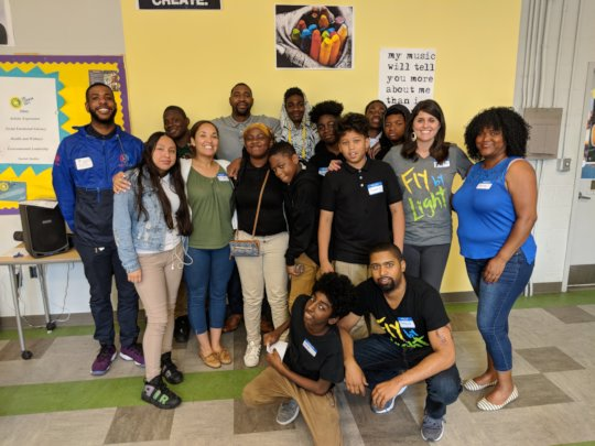 Violence Prevention Day at Hart Middle School