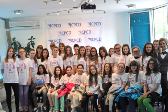 Workshop for girls from Sarajevo, April 2015