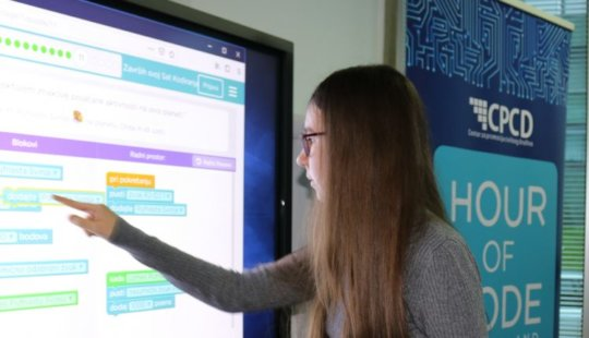 Girls are great in coding