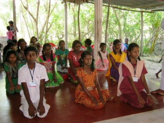 children under counselling and yoga