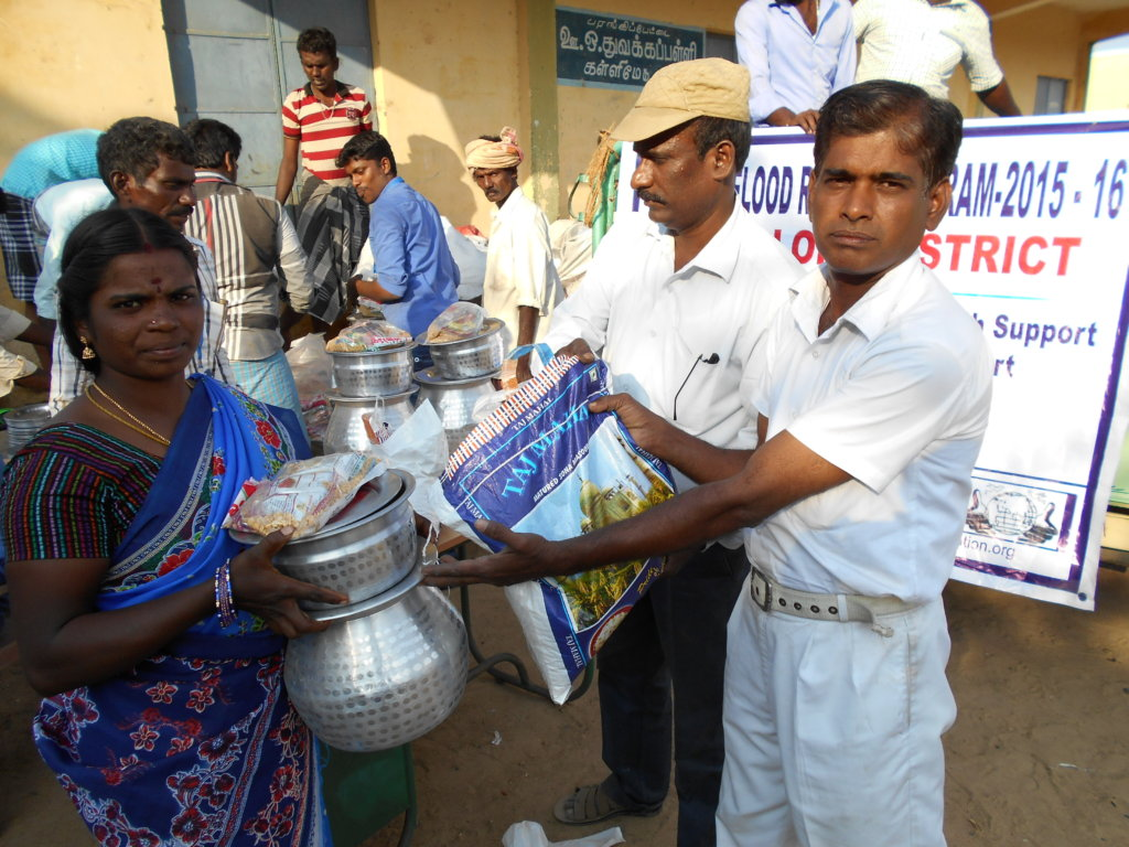 Recovery Support for Chennai Flood Survivors