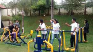 Gym - Prof Fabiano and students 1