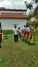 Gym - Prof Fabiano and students - 2