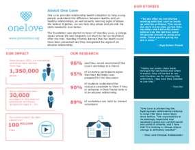 One Love Foundation (PDF)