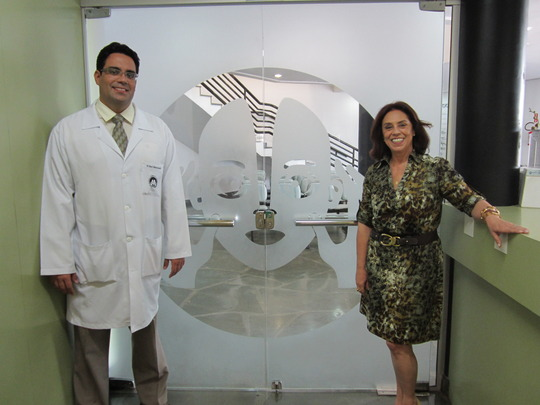 Dr Cesar and his mom Dra Vera (hospital director)