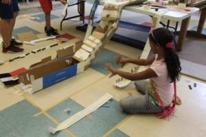 Young Inventors / marble runs