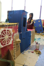 Clubhouses and Future Homes / cardboard designs