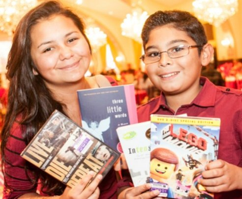 Provide holiday gifts to 500 foster youth