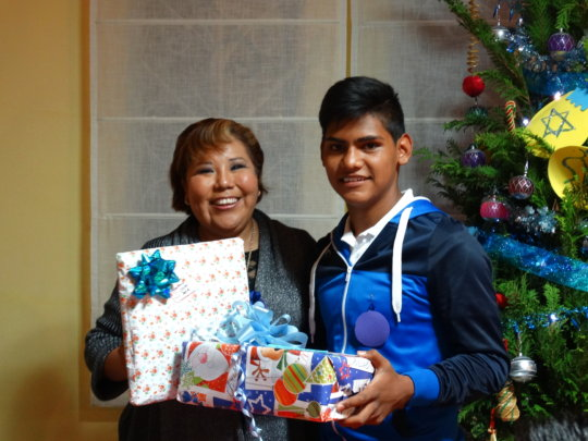 Christmas celebration at JUCONI's Youth House