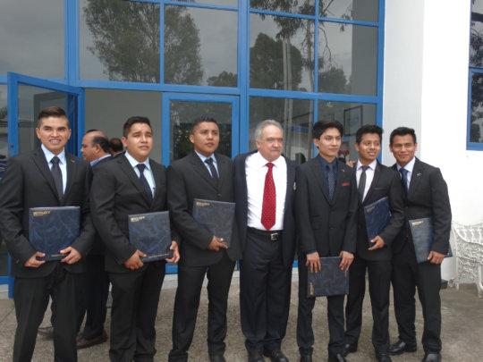 Graduation ceremony JUCONI Youth