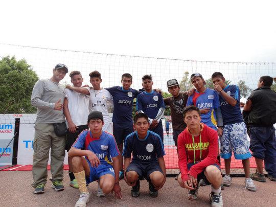 Teamwork: JUCONI Street Soccer Event