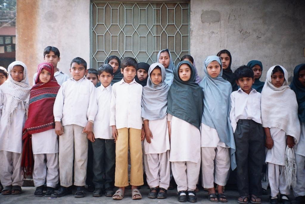 Providing new clothes for Eid to 1350 poor kids