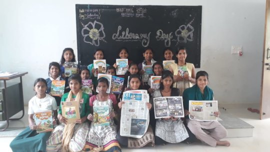 Newspaper reading sessions help build awareness