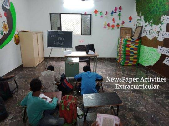 Newspaper Activity