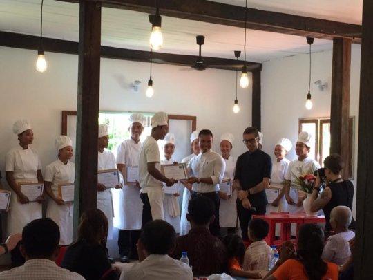 The Graduation of Kmao