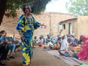 Reaching out to identify women in need