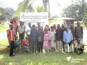 Community forest members in South Cameroon