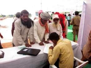 Patient Registration in Camps