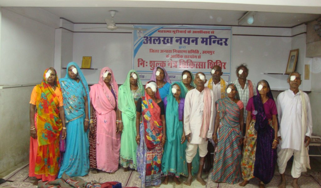 Gift of Sight to 1000 needy people of rural India