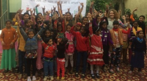 Scholarship recipients, Dr. Kumari, and CSR Team