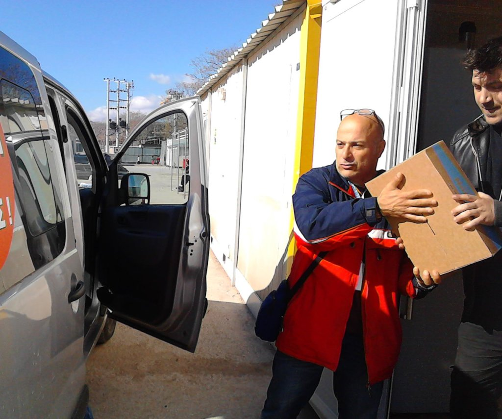 curring food to the warehouse of Athens
