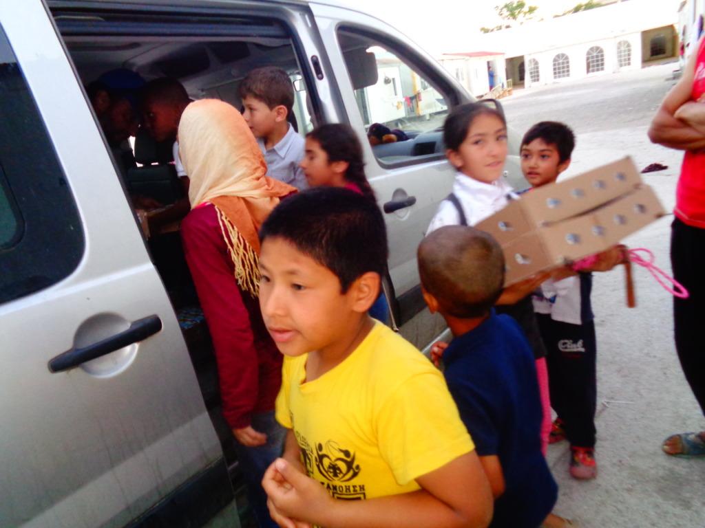 Kids are our Angel-volunteers!
