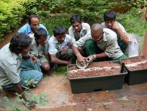 Vegetable Gardens & Internet for Indian Youth