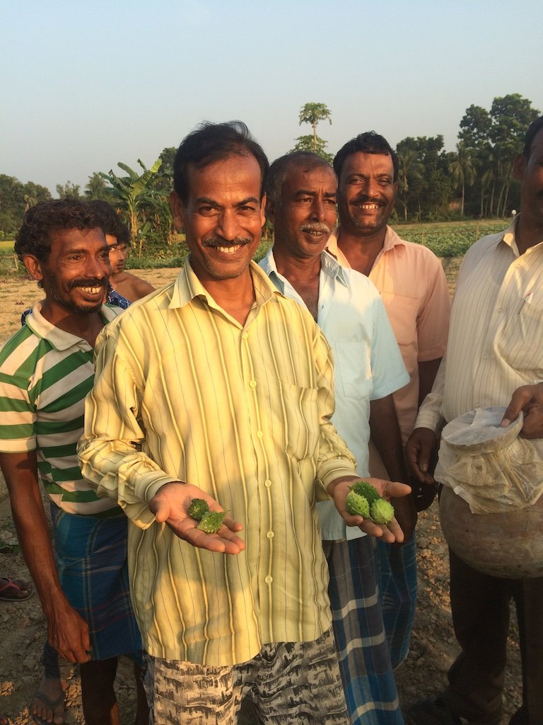 Teaching farming to over 1,000 families in India