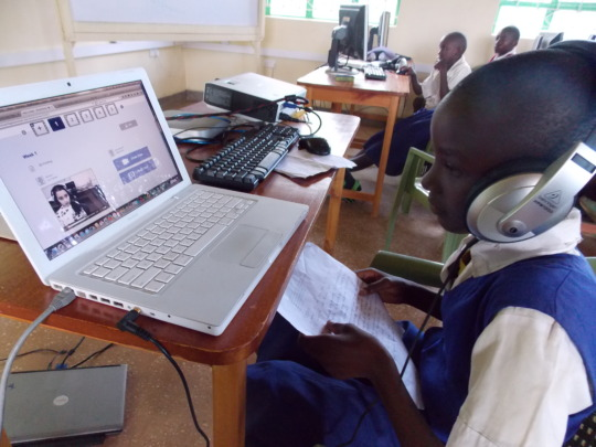 Techlonology class at the LRC