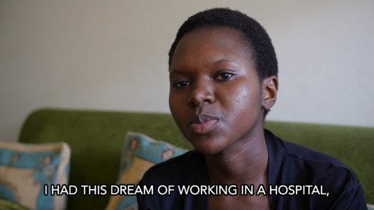 Priscilla, St. Vincent Nursing Student