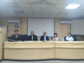 Trainers at the dice at KSCH Hospital , Delhi