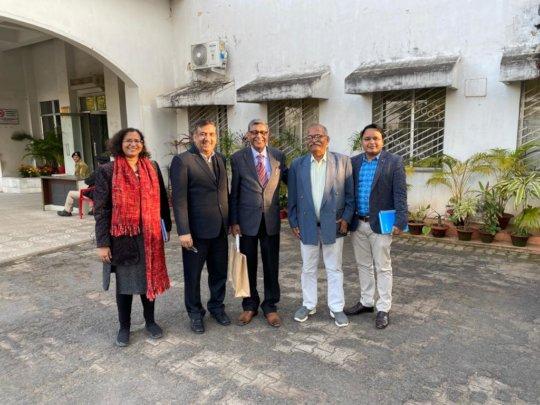 Unicef team, NHM and BPNI Team