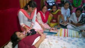 BPNI's IYCF training of trainers in Guwahati