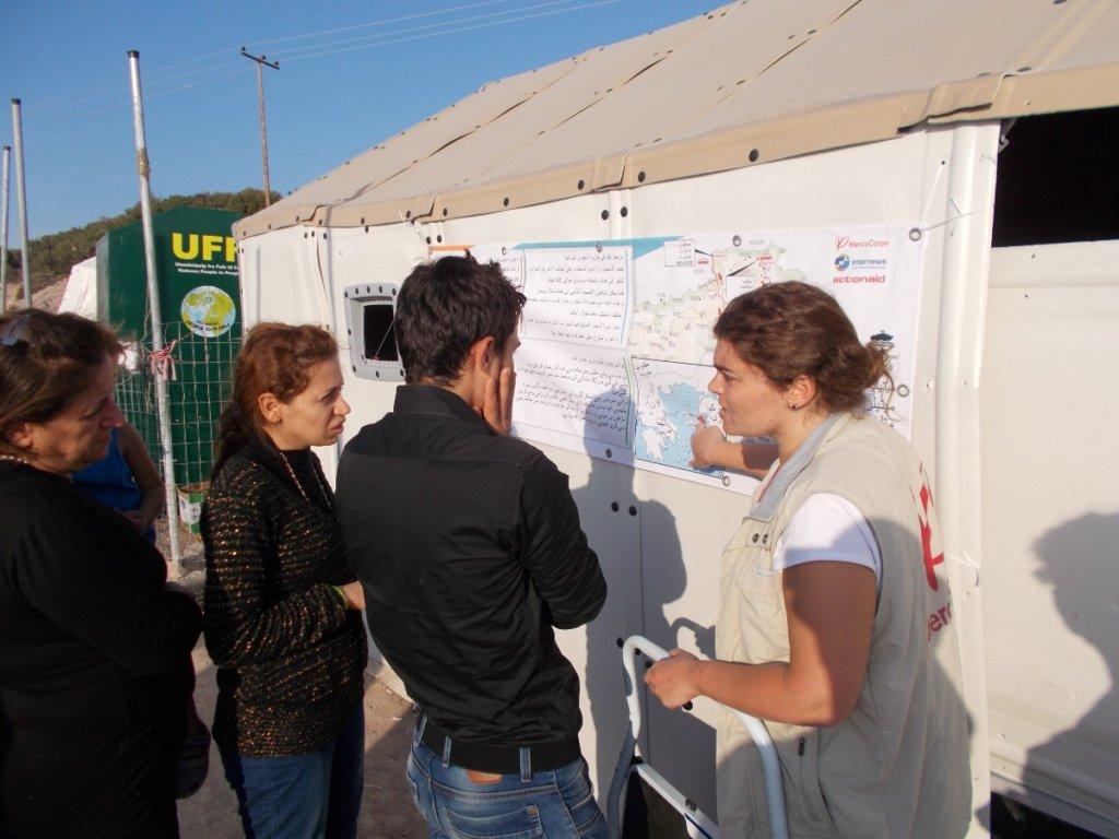 Help Refugees Access Lifesaving Information