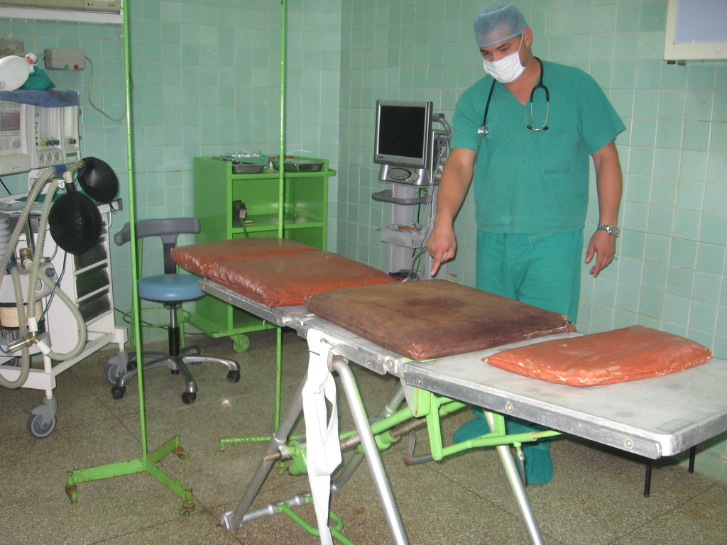 New OR table needed at Hospital Ambrosio Grillo