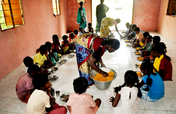 Sponsor nutritious meal to poor tribal children