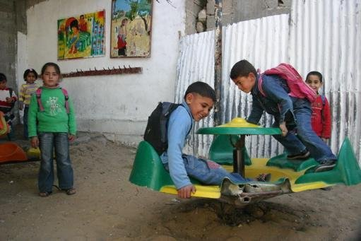 Giving Education and Hope to Children in Gaza