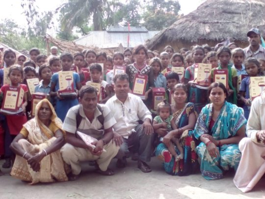 Beneficiaries and outreach workers
