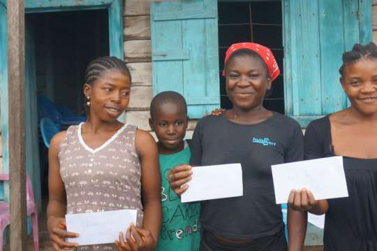 Receiving a second grant with more supported girls