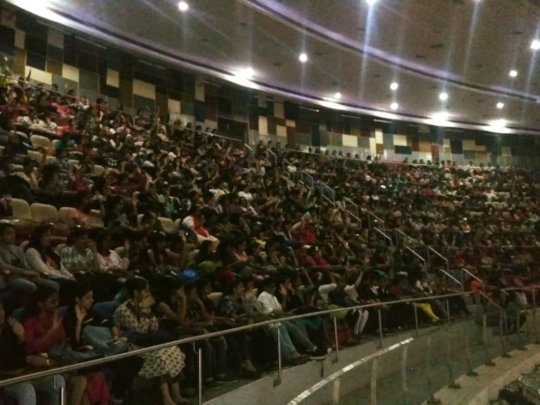 Recruitment workshop in a Bangalore College