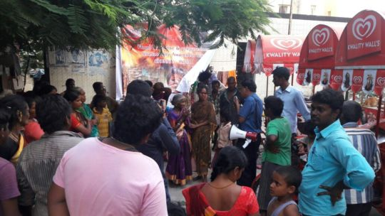 Emergency Flood Relief (Food) in slums of Chennai