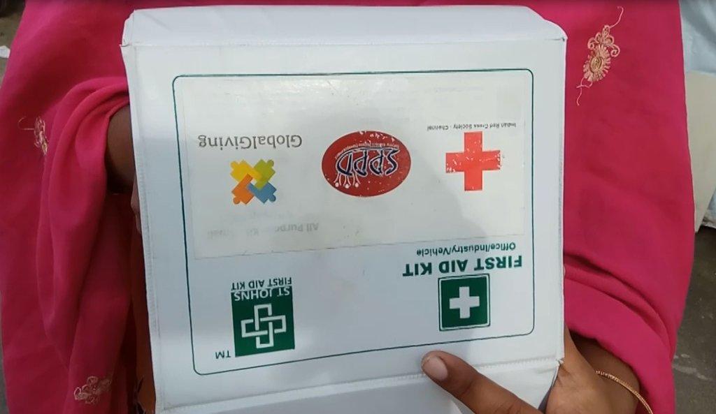 Emergency kit for slum people