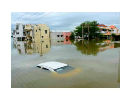 Emergency medical and relief work in Chennai