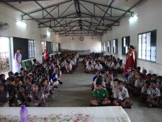 Counselling for Children in flood affected