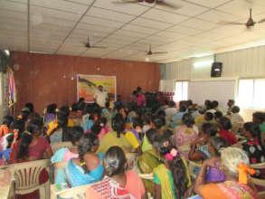 Ekkaduthangal people thank Global Giving