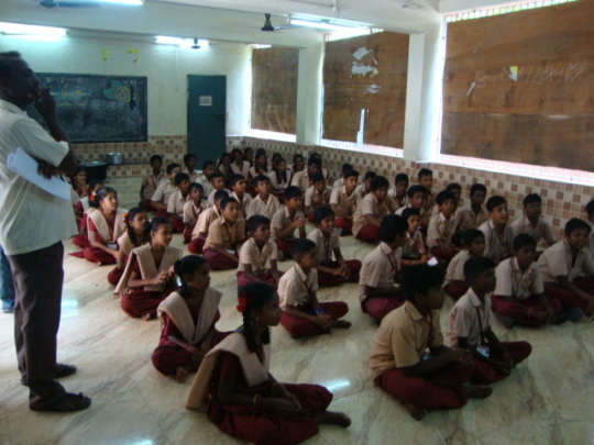 Intellectual games organized for school children