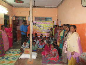 Orphange Children given relief goods