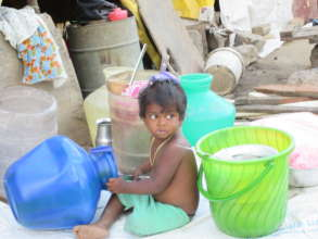 Boy in flood affected family welcomes relief goods