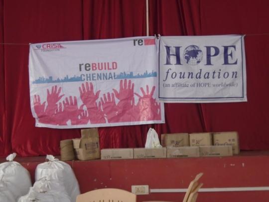 CRISIL FOUNDATION & HOPE foundation